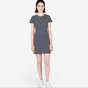 EVERLANE | The Gia Mini Striped Dress Large
